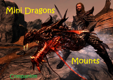 Mini Dragons - Mounts and Followers