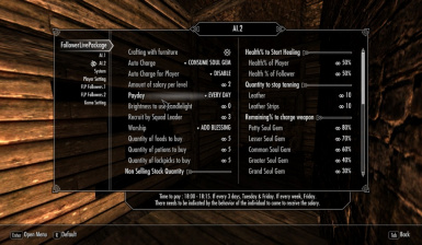 FollowerLivePackage at Skyrim Nexus - mods and community