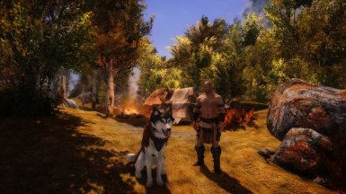 Garm and Kveldulfr about to have an adventure