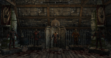 The Dark Brotherhood Display