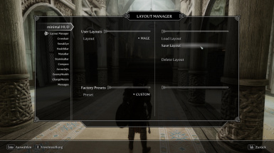 The LAYOUT MANAGER