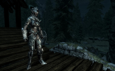 Female Knight Armor
