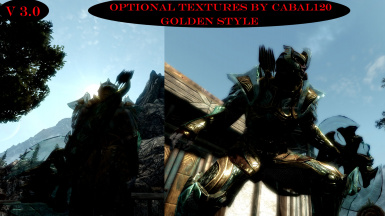 45 optional armor textures by Cabal120 - Golden