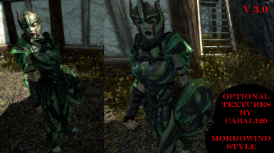 49 optional armor textures by Cabal120 - Morrowind