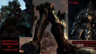 52 optional armor textures by Cabal120 - Thalmorized
