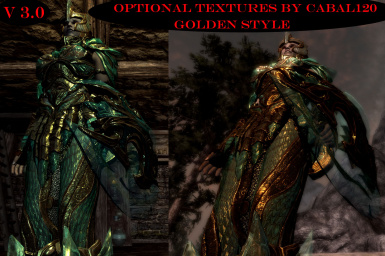 46 optional armor textures by Cabal120 - Golden