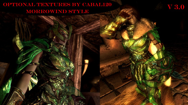50 optional armor textures by Cabal120 - Morrowind