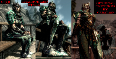 53 optional armor textures by Cabal120 - Thalmorized