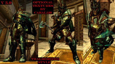 55 optional armor textures by Cabal120 - Thalmorized