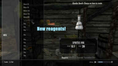 New reagents