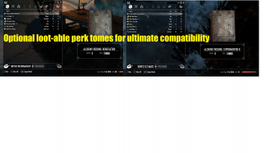 Optional Loot-able Perk Tomes For Ultimate Compatibility