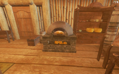 Hearthfire Oven and Butter Churn Module