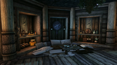 5.0 - Basement Elysium bed/decor