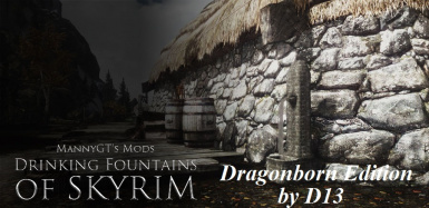 D13 Drinking Fountains of Skyrim - Dragonborn expansion