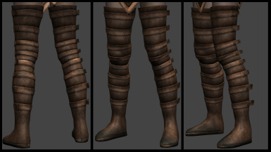 Long Light Boots - in next version