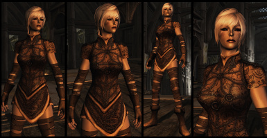Light Elven Armor - UNP