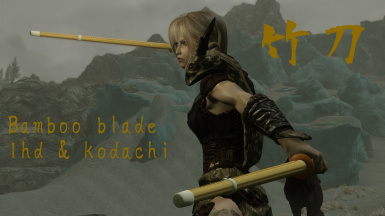 Japanese Weapon Pack at Skyrim Nexus - mods and community