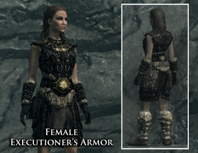 Female Executioner Armor (texture by Gamwich)