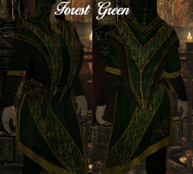 Female Forest Green