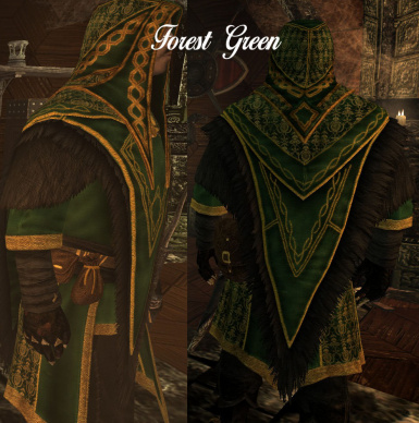 Male Forest Green