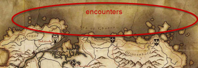 Northern Encounters - area of encounters