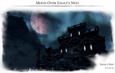 Moon over the Eagles Nest