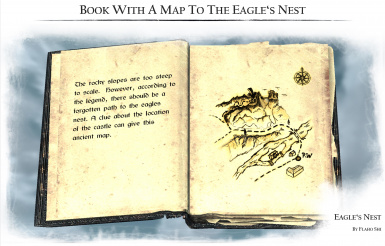 Book with a Map to the Eagles Nest