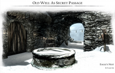 Old well as secret passage