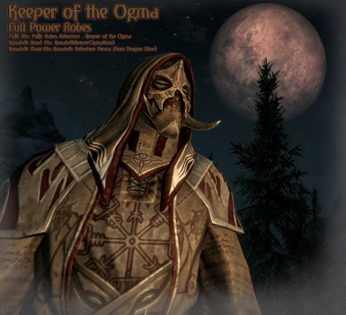 Keeper of the Ogma Full Power Robes
