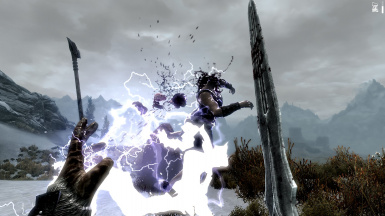 Deadly Mutilation - dismemberment blood and gore at Skyrim