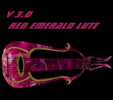 V3 RED EMERALD LUTE