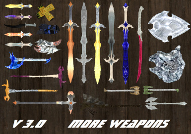 V3 MORE WEAPONS