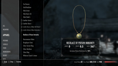 Better Chance At Resist Poison at Skyrim Nexus - mods and