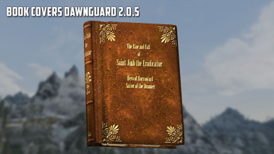 Book Covers Dawnguard