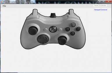 Xbox 360 Controller Remapper with Controller Input at Skyrim