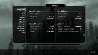 New in version 2 - NPC Settings
