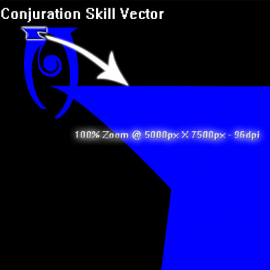 Conjuration PNG - PSD Specs