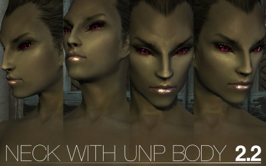 neck with UNP and Coverwomen