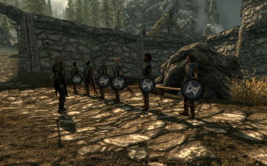 New Helgen guards