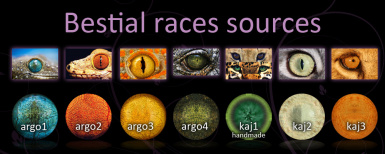 zbestial races sources