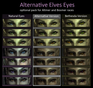 z Elves alternative eyes