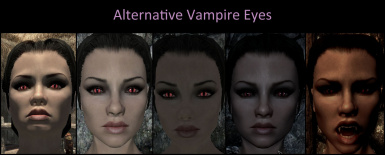 Alternative Vampire Eyes