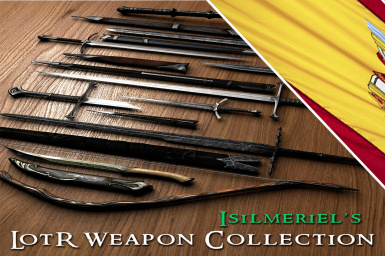 Isilmeriel LOTR Weapons Collection Spanish translation