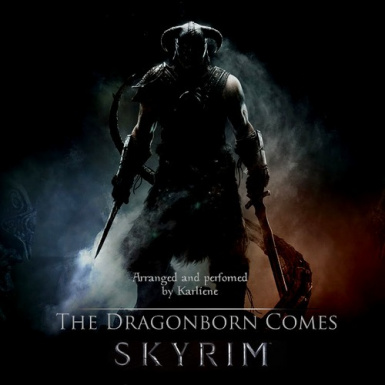 The Dragonborn Comes -Cover by Karliene Raynolds-