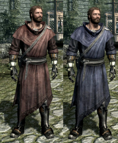 Mage Master and Expert Robes replacer