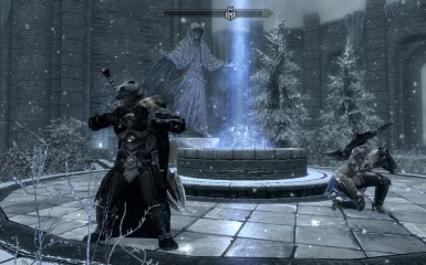 Yours truely having fun at Winterhold_Malise clearly appreciates