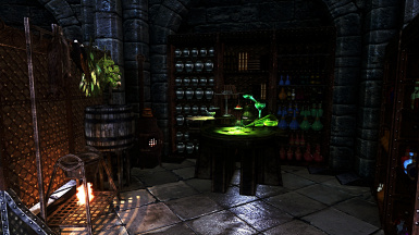 New Alchemy and Cooking Area