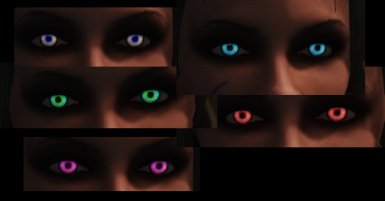 Eye color examples