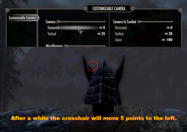 moving crosshair