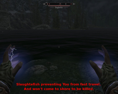 Slaughterfish Preventing you from fast travel